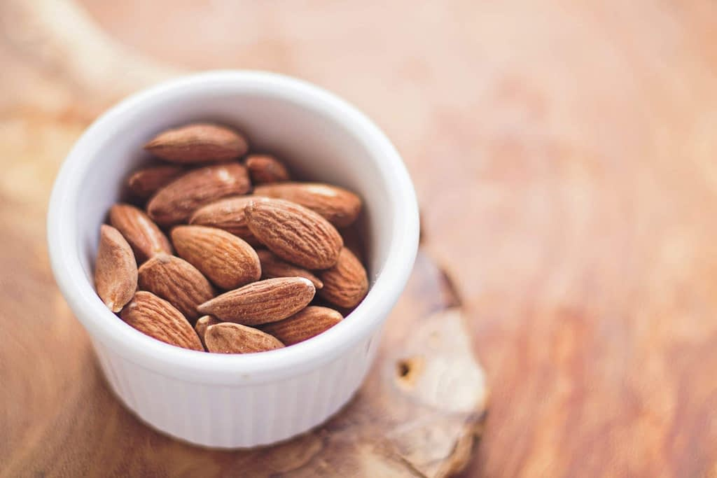 Almonds are great brain food