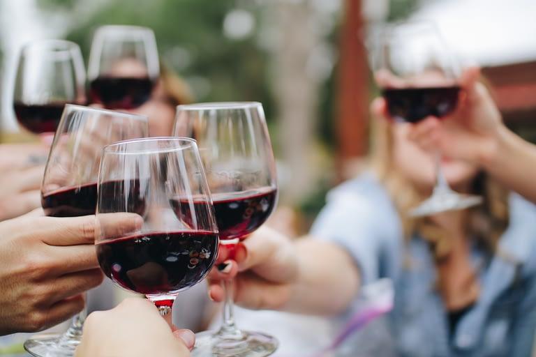 A glass of wine is fine on the Mediterranean diet
