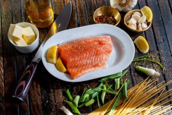 Salmon is rich in vitamin D for your best life